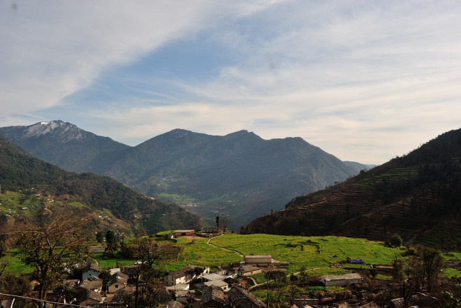 View from Sari Village, Uttarakhand