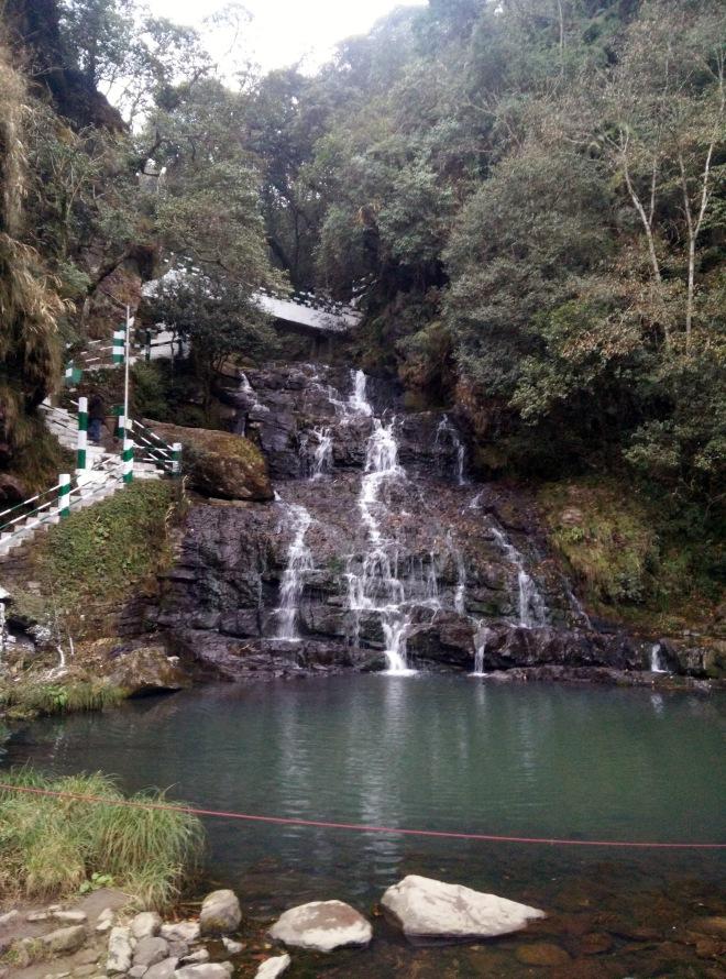 Three step waterfall, Sweet Falls