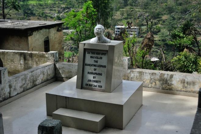 Jim Corbett's Statue in Rudraprayag