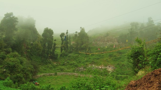 Adventure Sports at Dhanaulti : Zip lining