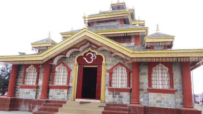 Surkanda Devi : Temple Building